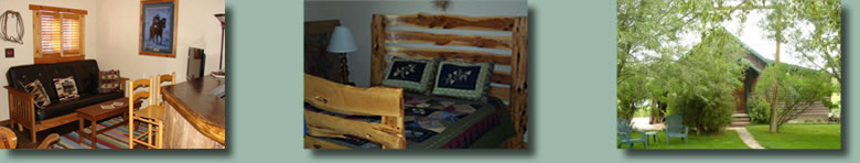 High Tide Ranch has a guest cagin known as The Bunkhouse just outside of Steamboat Springs, Colorado